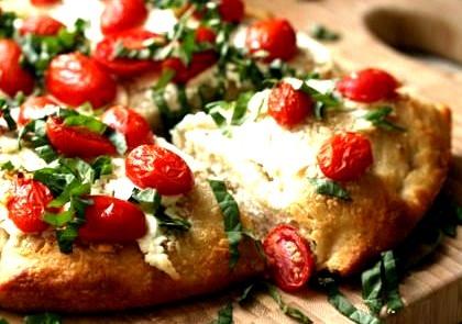 Pizza, Cherry Tomato