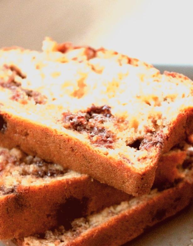 Recipe: Honey Whole Wheat Chocolate Chip Banana Bread
