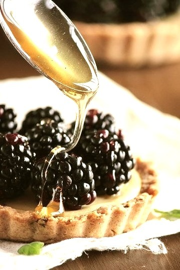 Blackberry Goat Cheese Tart by pastryaffair on Flickr