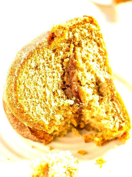 Snickerdoodle bundt cake